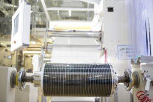Film photovoltaïque organique Asca utilisé sur des serres maraîchères à Saint-Julien-de-Concelles.